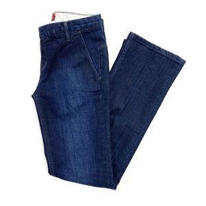 Raven Denim Slim Bootcut Trouser Jeans